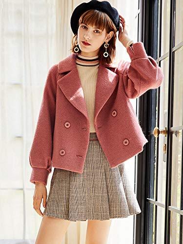 Xiao Et Femme De Rouge Clothing Manteau Porcelaine Court Nizi Laine D'hiver Vêtements D'automne 2018 En AOd4qYt4nw