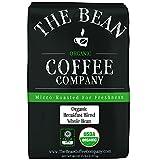 The Bean Coffee Company Organic Breakfast Blend, Light Roast, Whole Bean, 5-Pound Bag