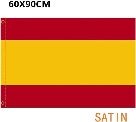 DURABOL Bandera de España Sin Escudo 60*90 cm SATIN 2 anillas ...