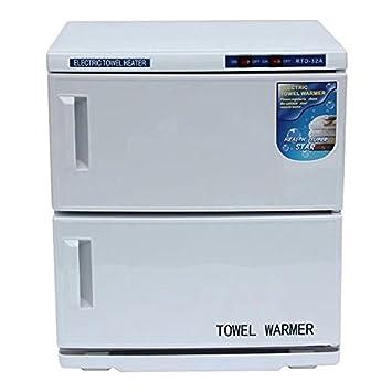 32L 2 en 1 Esterilizador de toalla UV Toalla calentador Ultravioleta Gabinete, Facial Piel Cuidado SPA Belleza Salón Toalla Sanitización Equipo: Amazon.es: ...