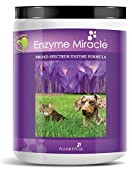 ENZYMES FOR DOGS and CATS -- The look of a healthy pet is unmistakable, power up his digestion with Enzyme Miracle-a complete plant-based enzyme supplement. Increase his nutrient absorption at each meal with one economical scoop. Complete sup...