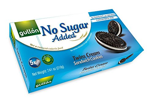 (Gullon No Sugar Added Twins Creme Sandwich Cookies (210g))