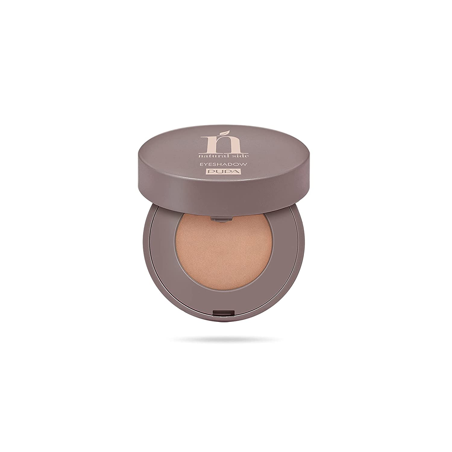 Natural Side Compact Eyeshadow – 005 Gold Glimmer by Pupa Milano for Women – 0.07 oz Eye Shadow