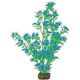 GloFish 78038 Aquarium Plant, Green/Blue, X-Large