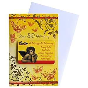 Tarjeta de felicitación-Tarjeta de felicitación de 30cumpleaños Ángel