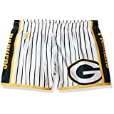 NFL Green Bay Packers Women's Pinstripe Polyester Shorts