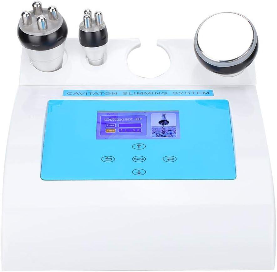 3 En 1 40KHz Cavitación Ultrasónica Producto De Belleza Máquina De Adelgazamiento Corporal Radiofrecuencia Lifting De La Piel Instrumento De Belleza Aparatos De Masaje Anticelulíticos(03)