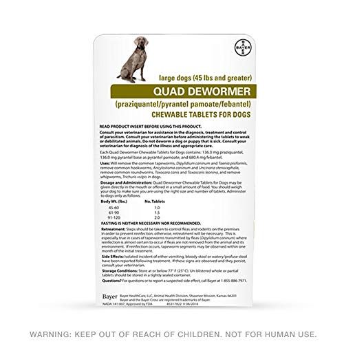 Buy dewormer for large dogs