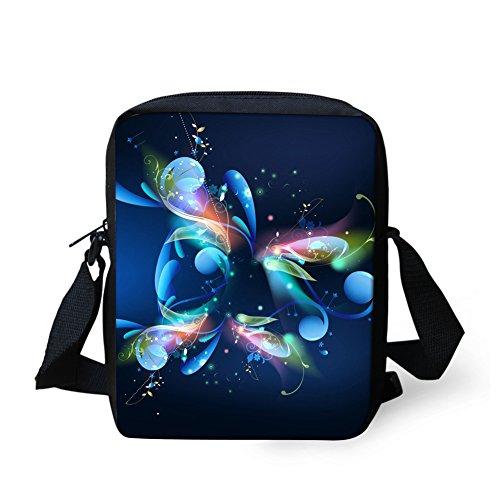 Outdoor Handbag Bag HUGS Travel Cellphone Pouch Butterfly Messenger IDEA Bags Butterfly 4 Small Crossbody ZTq6Xwq
