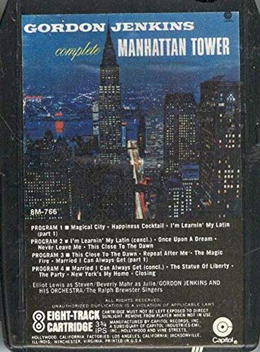 Manhattan Complete Tower - GORDON JENKINS: Gordon Jenkins' Complete Manhattan Tower 8 Track Tape