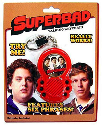 Basic Fun Superbad Talking Keychain by Basic Fun
