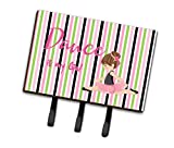 Caroline's Treasures Ballet Dance is my Life Brunette Wall Hook, Triple, Multicolor