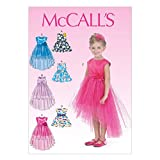 McCall Pattern Company M7077 Children's/Girls' Dresses, Size CL