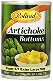 Roland Foods Artichoke Bottoms, Extra Large, 13.75 Ounce (Pack of 6)