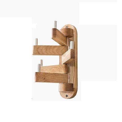 Coat rack Ropa giratoria de Madera Maciza Simple nórdica Que ...