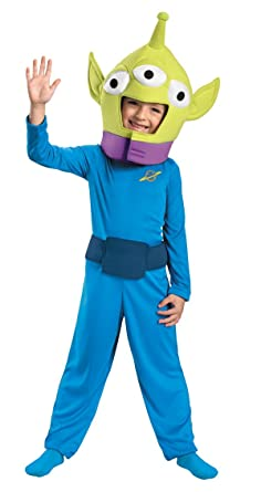 Disguise 187291 Toy Story- Alien Classic Toddler-Child Costume Size 3T-4T  sc 1 st  Amazon UK & Disguise 187291 Toy Story- Alien Classic Toddler-Child Costume Size ...