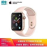 Apple Watch Series 4 MU682CH/A 智能手表(GPS 40毫米 金色铝金属表壳 粉砂色运动型表带)官方授权 全新国行 含税带票 可开专票