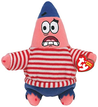 Amazon.com  TY Beanie Baby First Mate Patrick  Toys   Games 65396a7cdff