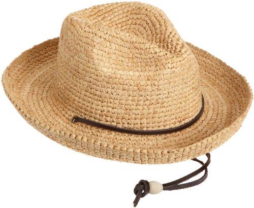 San Diego Hat Little Girls'  Raffia Hat,Natural,2-4 years ()