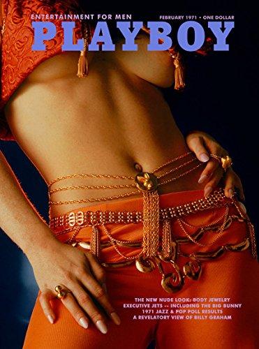 Playboy Adult Magazine, February 1971 (Body Jewelry, the New Nude Look)