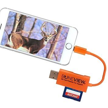BoneView - Lector de tarjetas SD para iPhone - El visor de ...