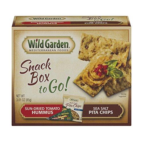 WILD GARDEN CHIP PITA HUMMUS COMBO TR, 3.1 OZ by Wild Garden