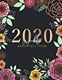 Books : 2020 Weekly Appointment Book: Floral Design Cover | Weekly & Monthly Appointment Planner | Organizer Dated Agenda Calendar Academic | Daily/Hourly ... Hourly Organizer In 15 Minute Interval)