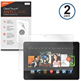 BoxWave Amazon Kindle Fire HDX 7.0 ClearTouch Anti-Glare Screen Protector (2-Pack) - Premium Quality Amazon Kindle Fire HDX 7.0 Anti-Glare, Anti-Fingerprint Matte Film Skin to Shield Against Scratches (Includes Lint Free Cleaning Cloth and Applicator Card)