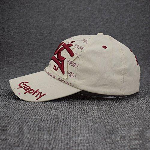 Ocio Hat Gorra Sombreros Hip Hombre Caps Mujer Exterior De Sun Mznwpm Béisbol Hueso Tapas Algodón Unisex De Hat Hop 60Rwq