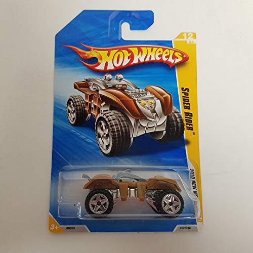 Spider Rider Gold Color 2010 Hot Wheels New Models 1/64 Scale diecast car No. 012