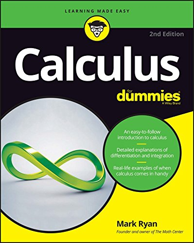 Calculus for Dummies (2nd 2016) [Ryan]