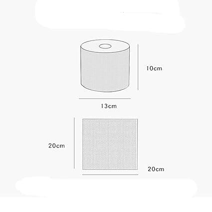 Fliyeong Toalla desechable multiusos de algodón para ...
