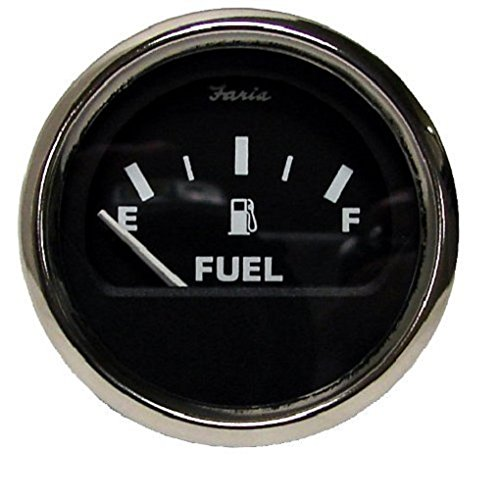 Moeller Marine Electric Dash Mounted Fuel Gauge (33 to 240 Ohm's) ()