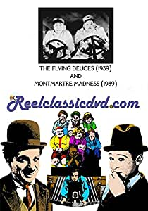 THE FLYING DEUCES (1939) and MONTMARTRE MADNESS (1939)