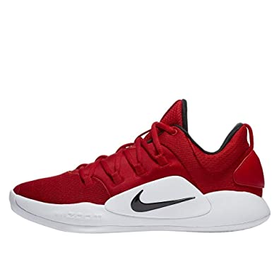 135626dd6 Image Unavailable. Image not available for. Color  Nike Mens Hyperdunk X  Low TB Basketball Shoe University RED Black-White ...