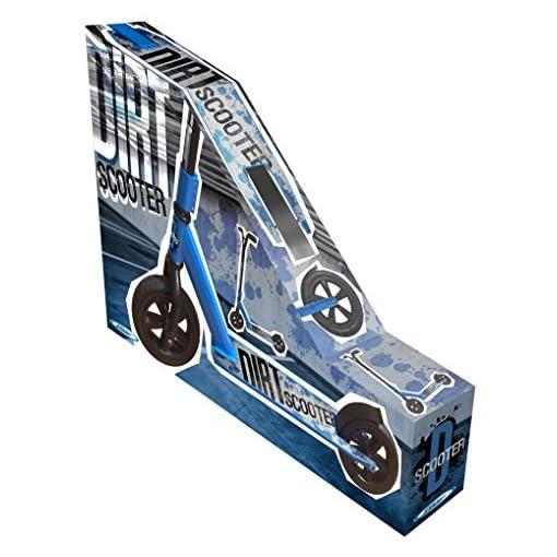 Stamp – Jb275001 – Trottinette Tout Terrain – Dirt Scooter – Design Innovant – Roues Gonflables – Plateau Aluminium – Frein Arrière – Roulement Abec 9 – Alliage Acier