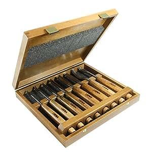 NAREX PROFI de trinchar en caja de madera - 8 piezas