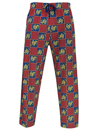 Harry Potter Mens Lounge Pants Size Medium (Potter Pants Harry)
