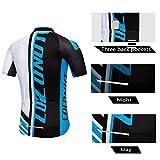 Men's Cycling Jersey Short Sleeve Full Zip Bike