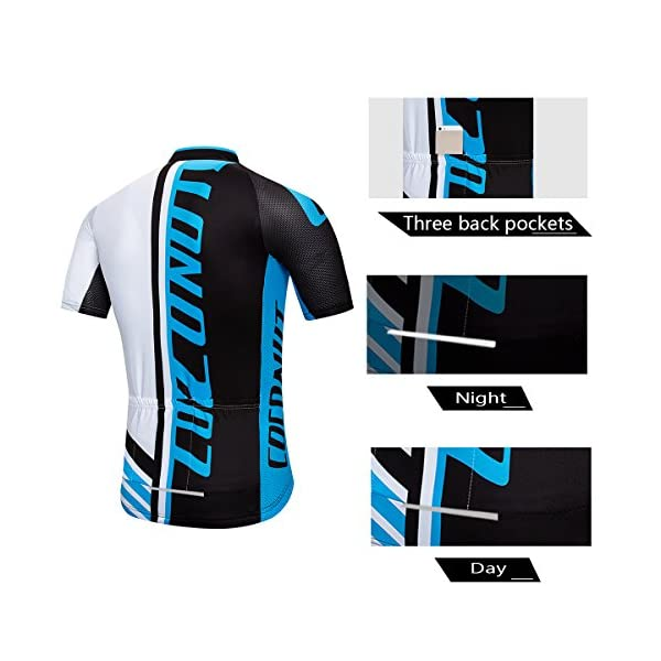 Mens Cycling Jerseys Short Cycling Suits MTB Clothes 3D Gel Padded Bib Shorts