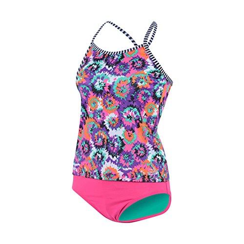 Dolfin Girl's Uglies Tankini Swimsuit (Cosmo, 16)