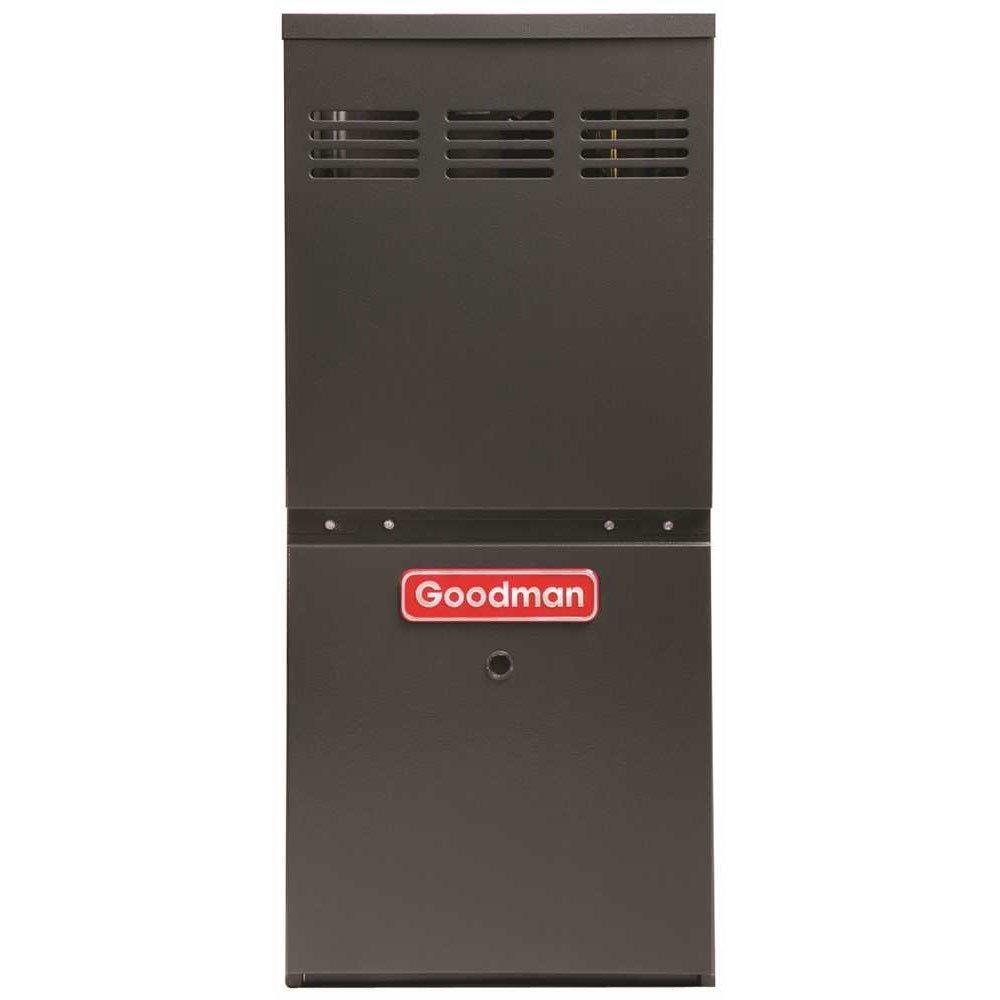 Goodman GMH80603AN Gas Furnace with 80% Afue 60K Btu Dual Saver 30 Ton
