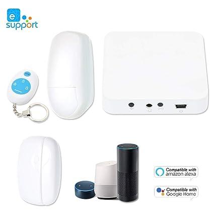 OWSOO 433MHz Sistema de Alarma Inteligente Compatible con ...