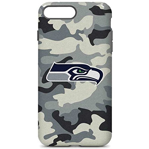 purchase cheap 181f0 f4190 Amazon.com: Skinit NFL Seattle Seahawks iPhone 8 Plus Pro Case ...