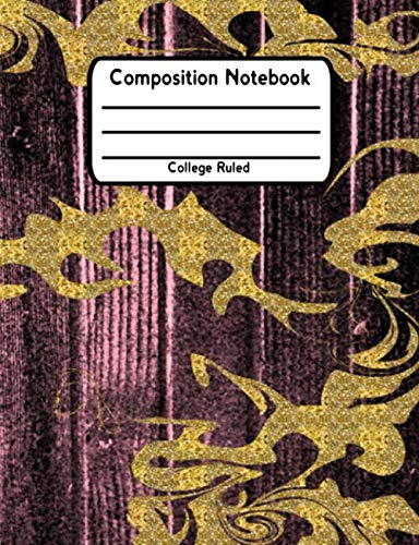 (Composition Notebook: College Ruled Lined Student School Journal V7)