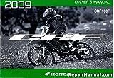 31KSJ650 2009 Honda CRF100F Motorcycle Owners Manual