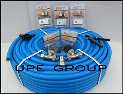 """MaxLine COMPRESSED AIR TUBING piping system Master Kit 3/4"""" pipe x 300 FT M7580 workshop / garage complete airline system"""