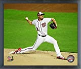 "Max Scherzer Washington Nationals 2018 MLB All Star Game Action Photo (Size: 12"" x 15"") Framed"