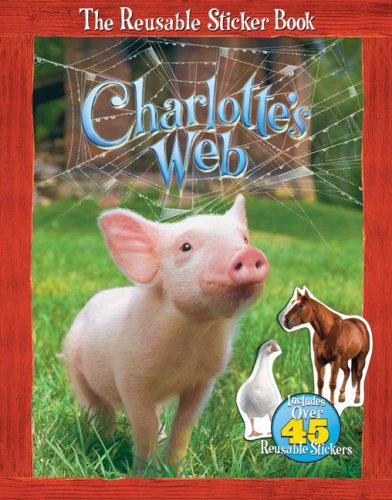 Download Charlotte's Web: The Reusable Sticker Book PDF