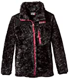 32 DEGREES Weatherproof Little Girls Outerwear Jacket (More Styles Available), Space Dye-WG197-Black, 5/6
